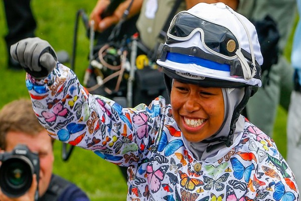 The Khadijah Mellah 'Riding a Dream' documentary generates a huge amount of publicity for the racing industry Image
