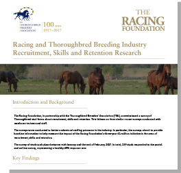 Thoroughbred Breeding Industry Recruitment, Skills & Retention Research 2017