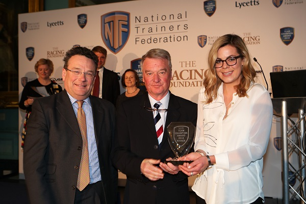 First winners of the NTF Lycetts Team Champion Award are announced Image