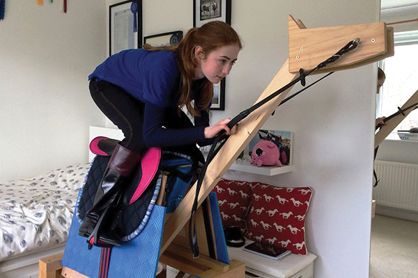 Pony Racing Academy graduate wins at Cheltenham...with the help of a wooden horse! Image