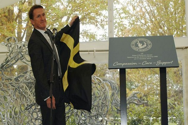The Injured Jockeys Fund third rehabilitation centre is officially opened in Newmarket by Sir Anthony McCoy Image