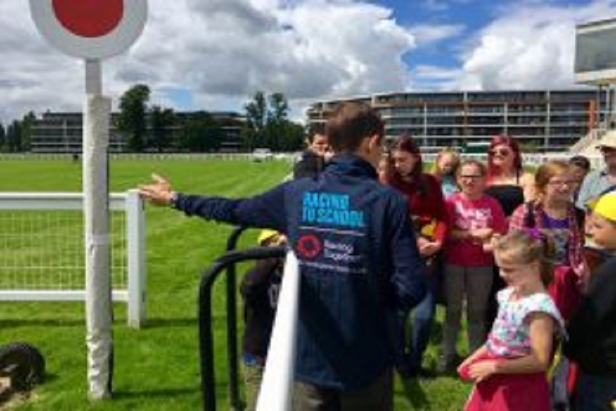 Top marks for Racing to School's Aintree Beacon Programme Image