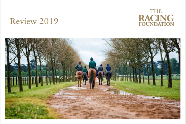 Racing Foundation publishes a review of its activity for 2019 to show grants awarded Image